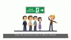 Animasi video safety